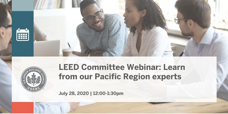 LEED Committee - Learn from Pacific Region Experts