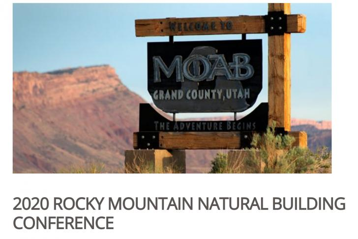 ROCKY MOUNTAIN NATURAL BUILDING CONFERENCE