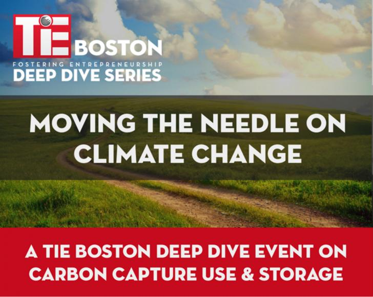 TiE Boston Deep Dive: Carbon Capture Use & Storage, Monday December 5, 6-9 pm, Cambridge