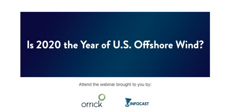 Webinar: Is 2020 the Year of U.S. Offshore Wind?, January 9