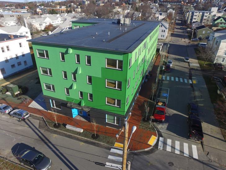 NESEA Green Building Pro Tour - Portland's First PHIUS+ Affordable Multifamily Housing, Friday, April 7, 1-5 pm, Portland, Maine