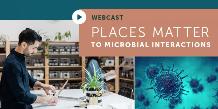 Places Matter to Microbial Interactions