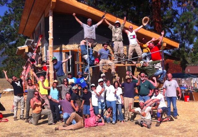 Strawbale Load Bearing Workshop, Temecula, CA